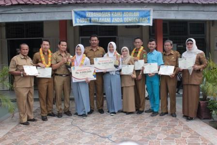 Bawa Pulang medali, Banggakan Riau di LKS Nasional