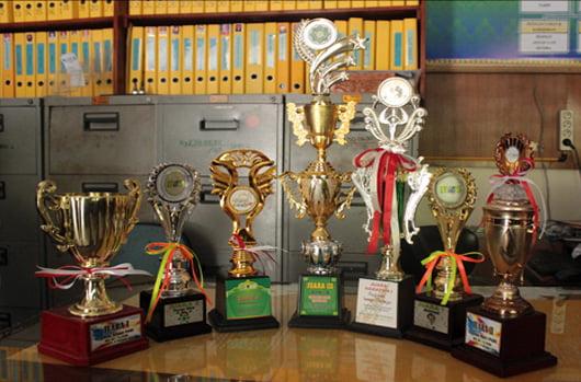 Bulan November, SMK Negeri 4 Pekanbaru Borong 10 Prestasi